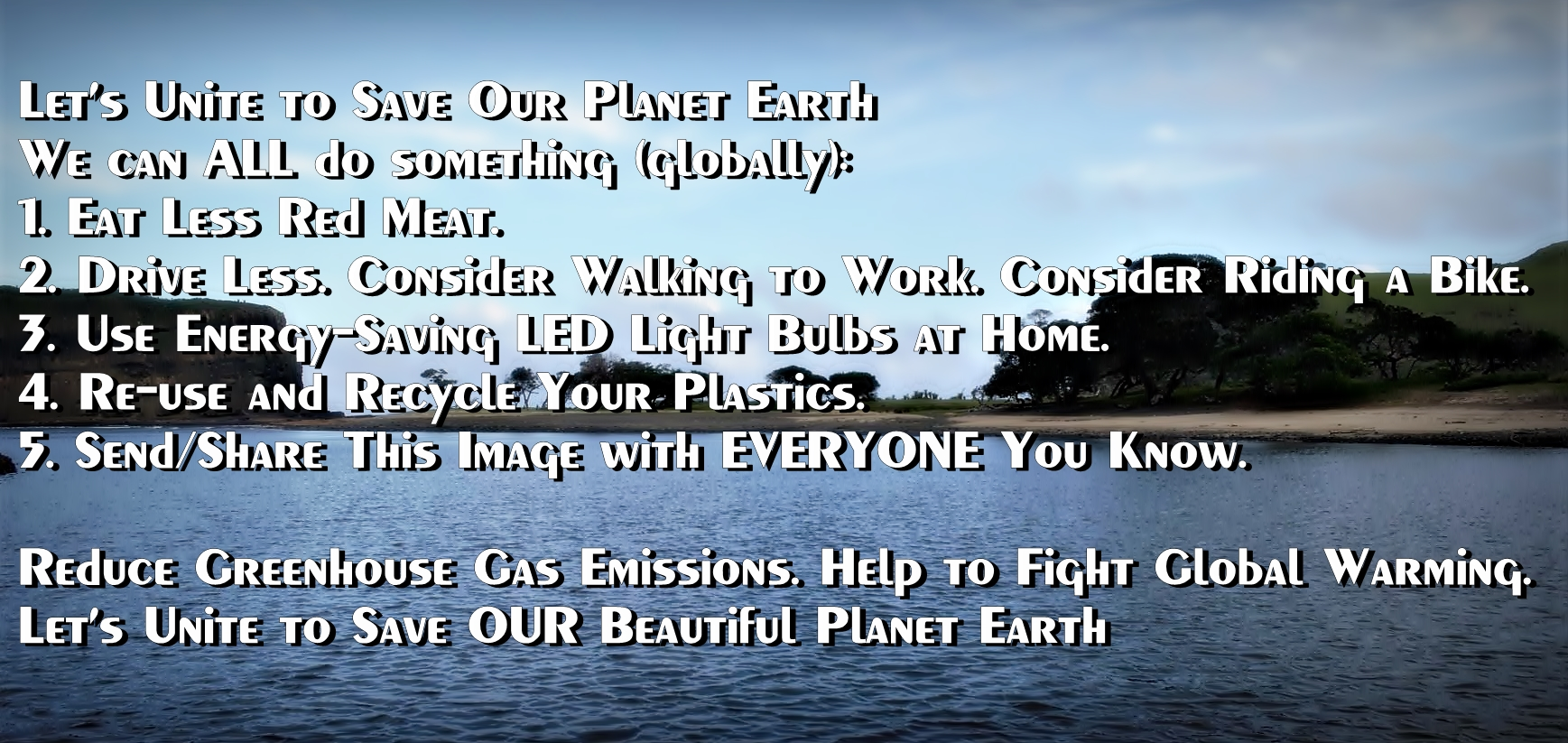 Reduce Greenhouse Gas Emissions